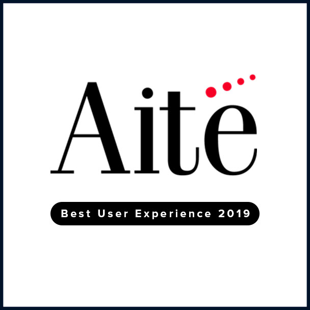 Aite Best User Experience Award