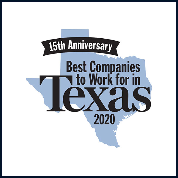 Best Place to Work Texas Award