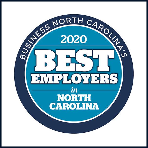 Best Employer North Carolina Award